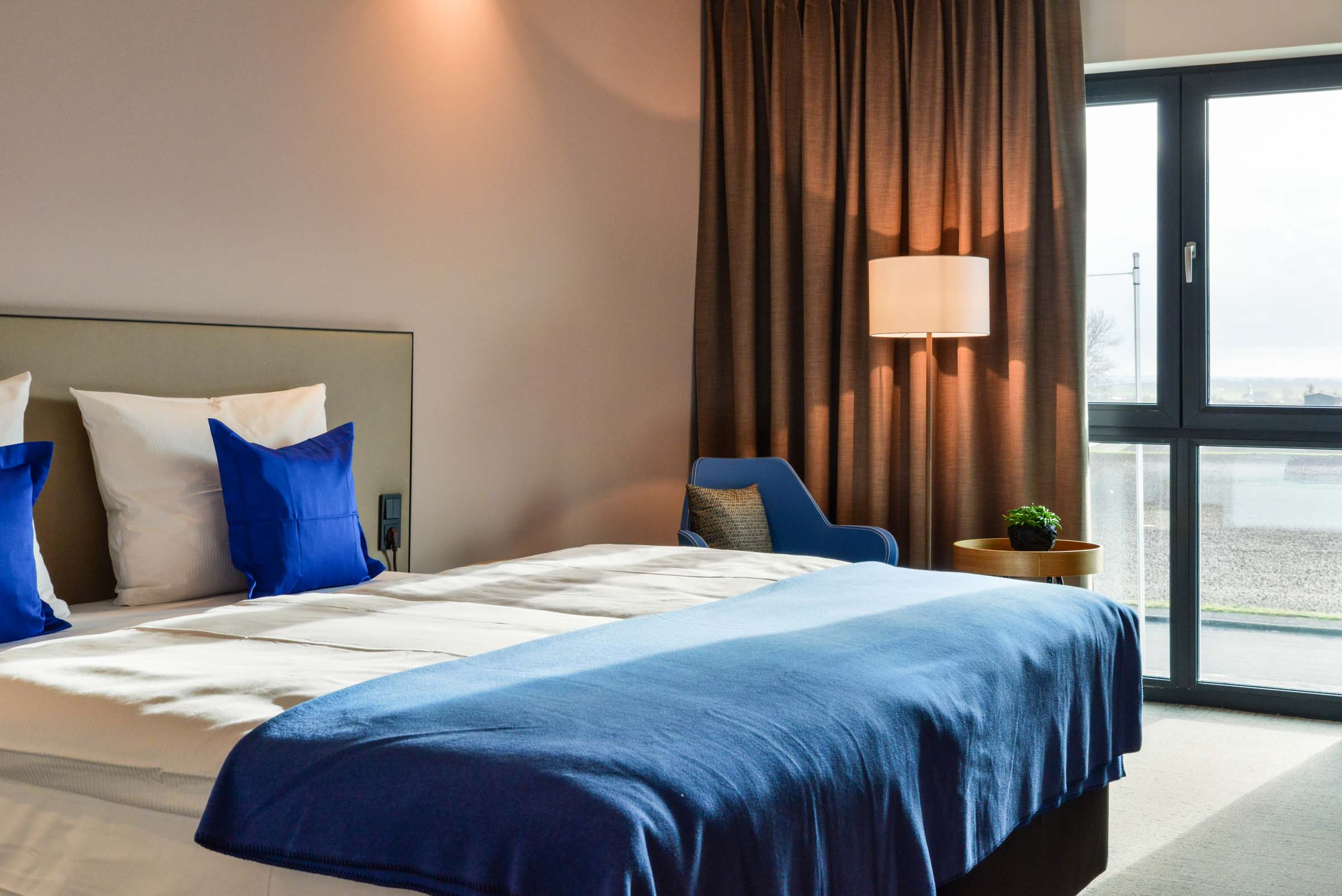 Doppelzimmeransicht i-Park Hotel